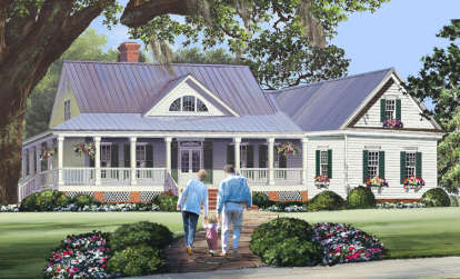 3 Bed, 2 Bath, 2010 Square Foot House Plan #7922-00229