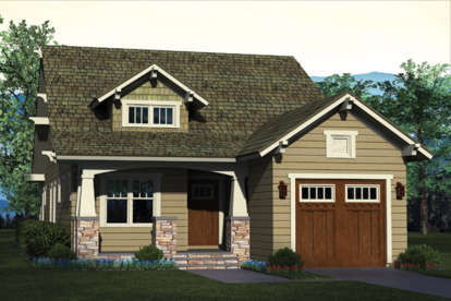 3 Bed, 2 Bath, 1637 Square Foot House Plan - #3323-00585
