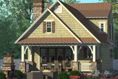 3 Bed, 2 Bath, 1676 Square Foot House Plan - #3323-00589