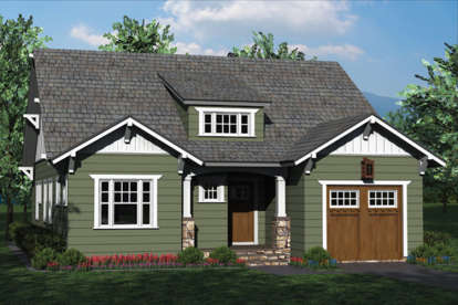 3 Bed, 2 Bath, 1685 Square Foot House Plan - #3323-00590