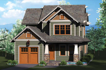 3 Bed, 2 Bath, 1804 Square Foot House Plan - #3323-00594