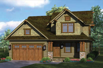 3 Bed, 2 Bath, 1883 Square Foot House Plan #3323-00596
