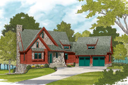 3 Bed, 2 Bath, 1885 Square Foot House Plan #3323-00597