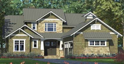 3 Bed, 3 Bath, 2494 Square Foot House Plan - #3323-00607