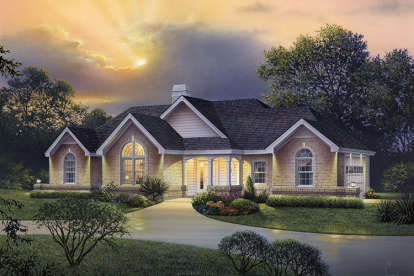 4 Bed, 2 Bath, 1977 Square Foot House Plan - #5633-00233
