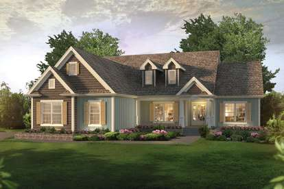 3 Bed, 2 Bath, 1983 Square Foot House Plan #5633-00287