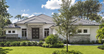 3 Bed, 3 Bath, 3211 Square Foot House Plan #1018-00224