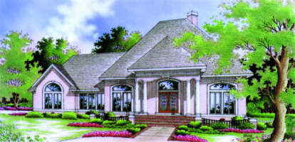 3 Bed, 2 Bath, 1792 Square Foot House Plan - #048-00088