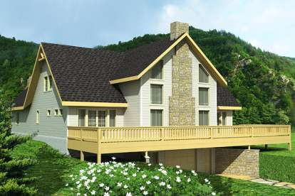 3 Bed, 2 Bath, 2600 Square Foot House Plan - #039-00608