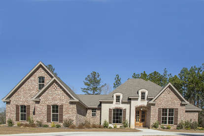 4 Bed, 3 Bath, 3287 Square Foot House Plan - #041-00132