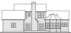 Country House Plan #033-00017 Elevation Photo