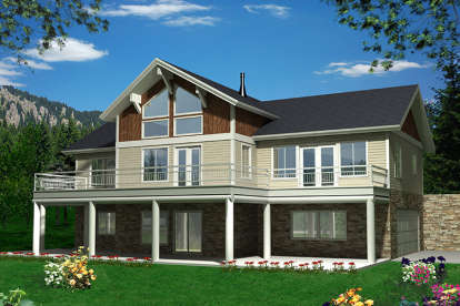 3 Bed, 2 Bath, 3009 Square Foot House Plan - #039-00622