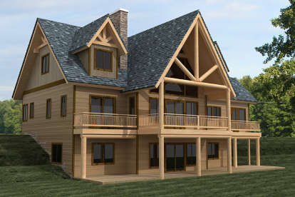 3 Bed, 2 Bath, 4154 Square Foot House Plan #039-00625