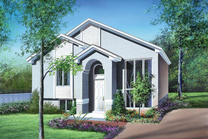 2 Bed, 1 Bath, 944 Square Foot House Plan - #6146-00042