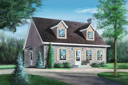 4 Bed, 2 Bath, 1833 Square Foot House Plan - #6146-00049