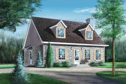 4 Bed, 2 Bath, 1764 Square Foot House Plan - #6146-00051