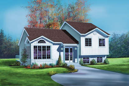 3 Bed, 1 Bath, 1605 Square Foot House Plan - #6146-00080