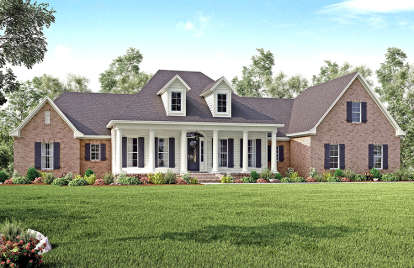 4 Bed, 3 Bath, 3194 Square Foot House Plan - #041-00139
