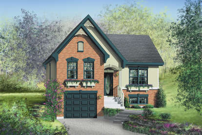 3 Bed, 1 Bath, 1786 Square Foot House Plan - #6146-00093
