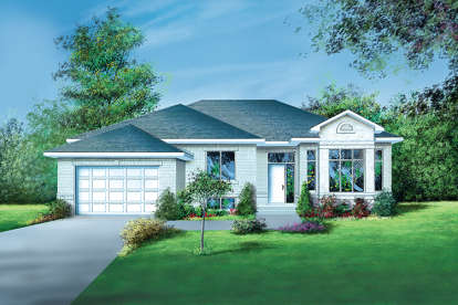 3 Bed, 1 Bath, 1804 Square Foot House Plan - #6146-00120