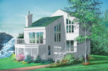 4 Bed, 1 Bath, 1980 Square Foot House Plan - #6146-00132