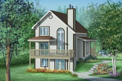 3 Bed, 2 Bath, 1862 Square Foot House Plan - #6146-00135