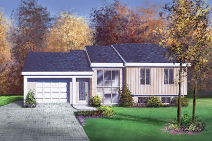 3 Bed, 1 Bath, 1969 Square Foot House Plan - #6146-00149