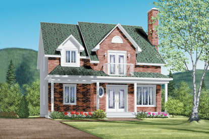 4 Bed, 2 Bath, 1957 Square Foot House Plan - #6146-00150