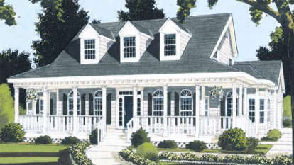 4 Bed, 2 Bath, 2177 Square Foot House Plan #033-00018