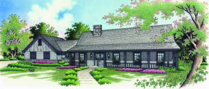 3 Bed, 2 Bath, 1800 Square Foot House Plan - #048-00094