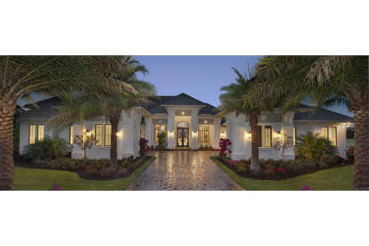 4 Bed, 4 Bath, 4817 Square Foot House Plan #1018-00233