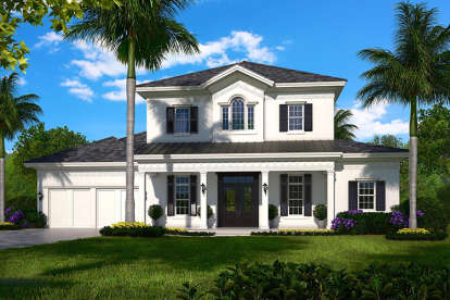 5 Bed, 5 Bath, 4330 Square Foot House Plan #1018-00238