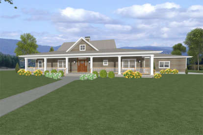 3 Bed, 2 Bath, 2058 Square Foot House Plan #3125-00007