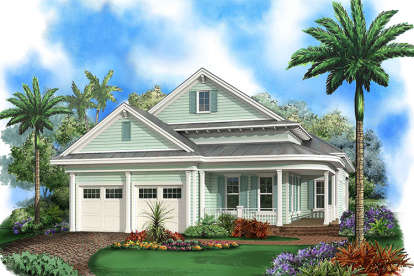 3 Bed, 3 Bath, 2972 Square Foot House Plan - #1018-00249