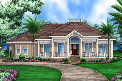 4 Bed, 4 Bath, 3563 Square Foot House Plan - #1018-00250