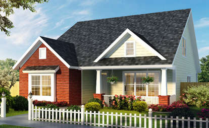 4 Bed, 2 Bath, 2167 Square Foot House Plan - #4848-00346