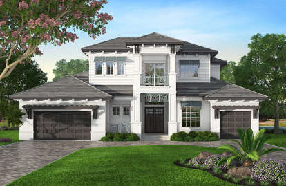 4 Bed, 5 Bath, 4602 Square Foot House Plan #207-00024