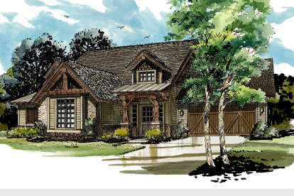 5 Bed, 3 Bath, 3060 Square Foot House Plan - #1907-00029