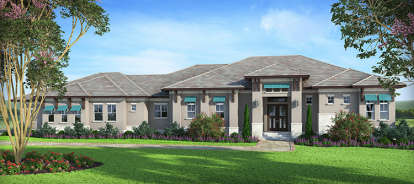 3 Bed, 3 Bath, 2880 Square Foot House Plan - #207-00028