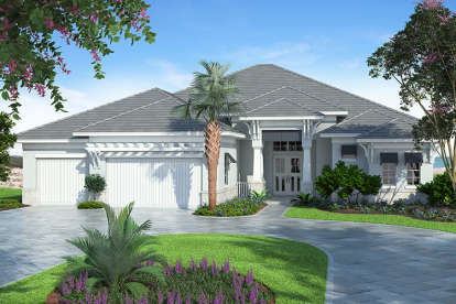 3 Bed, 3 Bath, 2933 Square Foot House Plan #207-00029