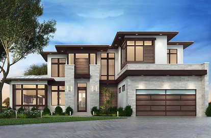 3 Bed, 3 Bath, 3730 Square Foot House Plan #207-00036