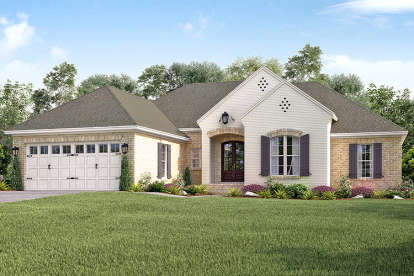 4 Bed, 2 Bath, 2016 Square Foot House Plan - #041-00142