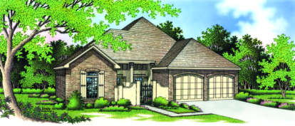 2 Bed, 2 Bath, 1891 Square Foot House Plan - #048-00099