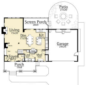 Main for House Plan #8504-00107