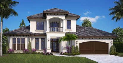 4 Bed, 4 Bath, 3616 Square Foot House Plan #1018-00257