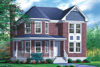 4 Bed, 2 Bath, 2279 Square Foot House Plan - #6146-00228