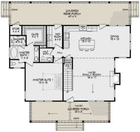 Main Floor for House Plan #940-00001