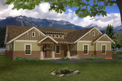 3 Bed, 2 Bath, 2300 Square Foot House Plan - #940-00007