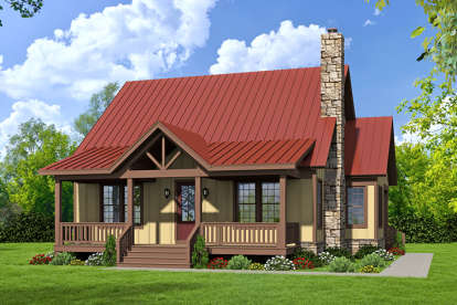 3 Bed, 3 Bath, 1973 Square Foot House Plan #940-00011