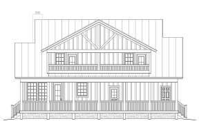 Cabin House Plan #940-00012 Elevation Photo